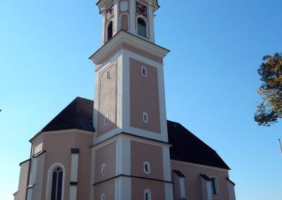Pfarrkirche Rottenbach bei Tag